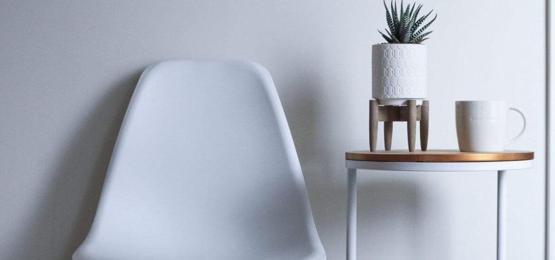 sedia e tavolini da salotto moderni stile nordico