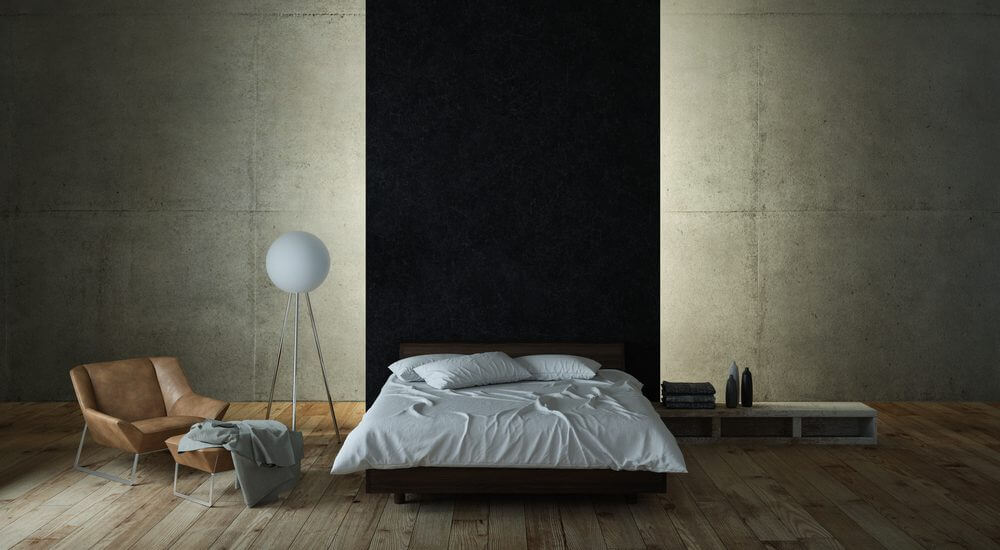 illuminazione indiretta camera da letto