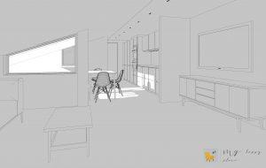 ristrutturazione mansarda progetto 3d