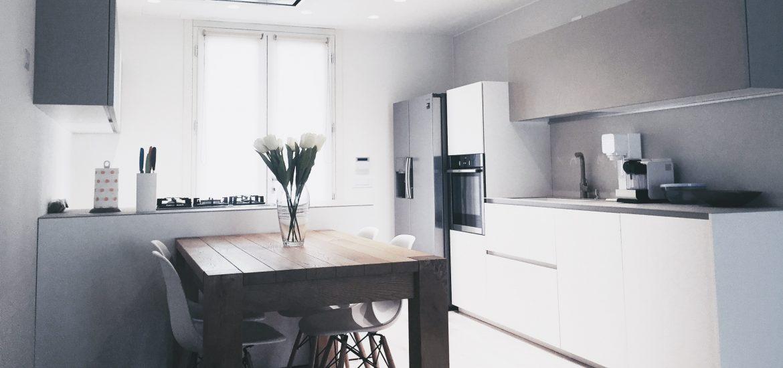 cucina moderna casa domotica