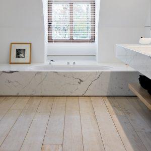 bagno con vasca in marmo arredare bagno con marmo