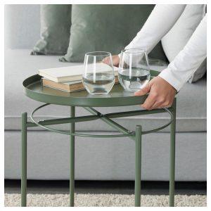 Tavolino ferro verde Ikea