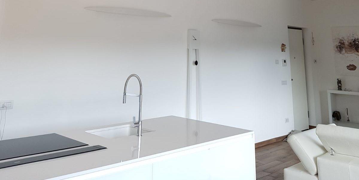 Cucina arredamento moderno salotto