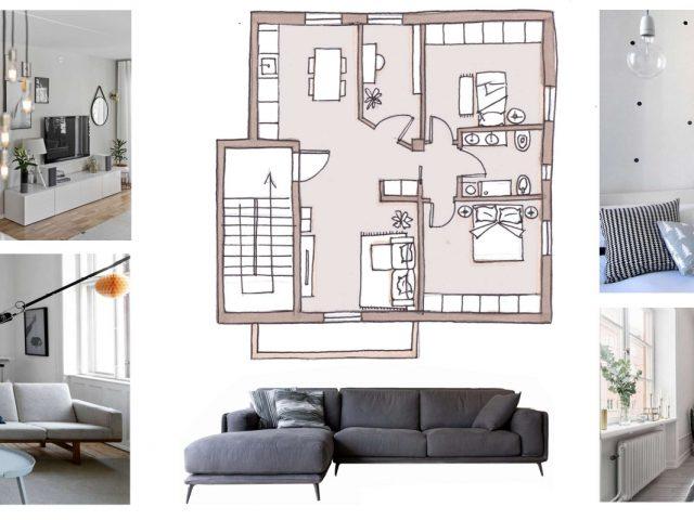 moodboard casa moderna progetto di ristrutturazione