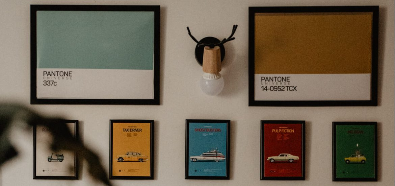 quadri pantone arredare casa in affitto
