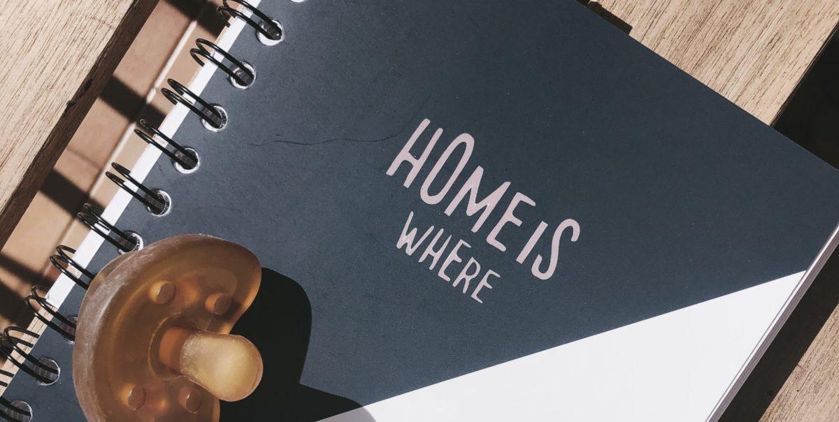 ristrutturare casa quaderno home is where planner