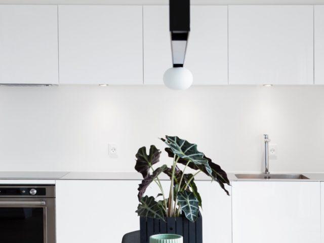 cucina bianca ikea voxtorp