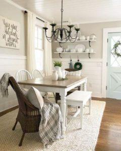 come disporre tappeti in sala da pranzo