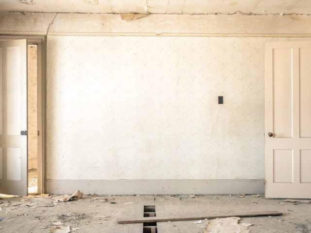 appartamento da ristrutturare