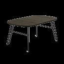 tavolo allungabile legno nero