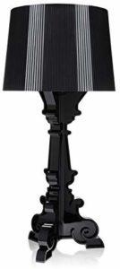 lampada da tavolo kartell nera plastica